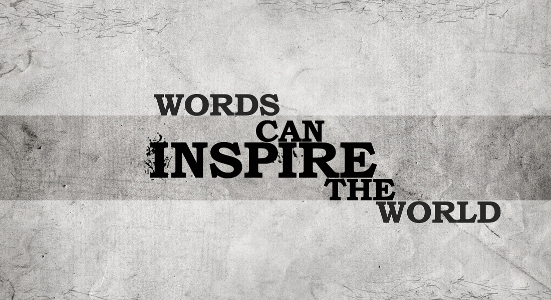 words can inspire